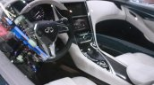 Infiniti Q60 Concept interior at the 2015 Detroit Auto Show