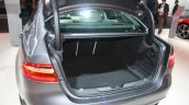 Jaguar XE boot space at 2015 Detroit Auto Show