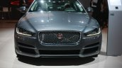 Jaguar XE front at 2015 Detroit Auto Show