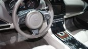 Jaguar XE interior at 2015 Detroit Auto Show