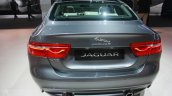 Jaguar XE rear at 2015 Detroit Auto Show
