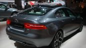 Jaguar XE rear three quarter at 2015 Detroit Auto Show