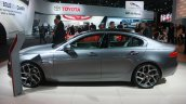 Jaguar XE side at 2015 Detroit Auto Show