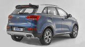 Kia KX3 rear three quarter leaked official pic China
