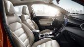 MG GS SUV front seats press photograph