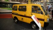 Mahindra Maxximo School Van front quarter at Bus and Special Vehicles Show 2015