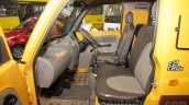 Mahindra Maxximo School Van front seats at Bus and Special Vehicles Show 2015