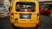 Mahindra Maxximo School Van rear at Bus and Special Vehicles Show 2015