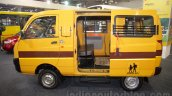 Mahindra Maxximo School Van side at Bus and Special Vehicles Show 2015