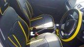 Maruti Swift Windsong edition interior at dealer