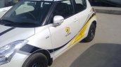 Maruti Swift Windsong edition side at dealer