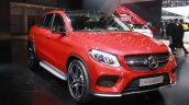 Mercedes AMG GLE 450 AMG Coupe at the 2015 Detroit Auto Show front three quarter