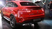 Mercedes AMG GLE 450 AMG Coupe at the 2015 Detroit Auto Show rear three quarter