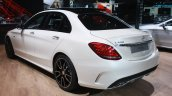 Mercedes Benz C 450 AMG rear three quarter at the 2015 Detroit Auto Show