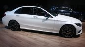 Mercedes Benz C 450 AMG side at the 2015 Detroit Auto Show
