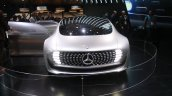 Mercedes Benz F 015 Concept front at the 2015 Detroit Auto Show