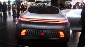 Mercedes Benz F 015 Concept rear at the 2015 Detroit Auto Show