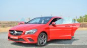 Mercedes CLA 200 CDI all doors open Review