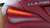 Mercedes CLA 200 CDI brake light Review