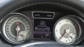 Mercedes CLA 200 CDI cluster Review
