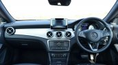 Mercedes CLA 200 CDI dashboard Review