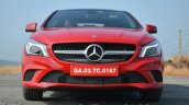 Mercedes CLA 200 CDI front Review