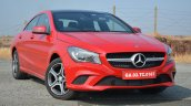 Mercedes CLA 200 CDI front angle Review