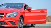 Mercedes CLA 200 CDI front door Review