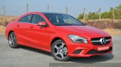 Mercedes CLA 200 CDI front quarter Review