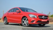 Mercedes CLA 200 CDI front quarters Review