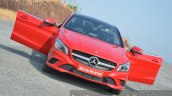 Mercedes CLA 200 CDI profile shot Review