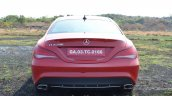 Mercedes CLA 200 rear Review