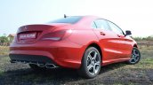 Mercedes CLA 200 rear quarters Review