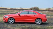 Mercedes CLA 200 side angle Review