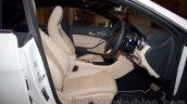 Mercedes CLA seat India launch