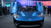 New Ford GT front at the 2015 Detroit Auto Show