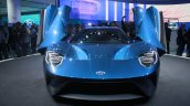 New Ford GT front end at the 2015 Detroit Auto Show