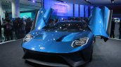 New Ford GT front quarter at the 2015 Detroit Auto Show