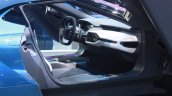 New Ford GT interior at the 2015 Detroit Auto Show