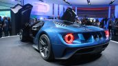 New Ford GT rear quarters at the 2015 Detroit Auto Show