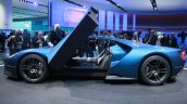 New Ford GT side at the 2015 Detroit Auto Show