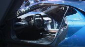 New Ford GT steering at the 2015 Detroit Auto Show