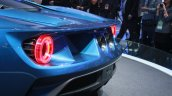 New Ford GT taillight at the 2015 Detroit Auto Show