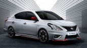 Nissan Almera NISMO front