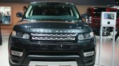 Range Rover Sport front at the 2015 Detroit Auto Show