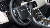 Range Rover Sport interior at the 2015 Detroit Auto Show
