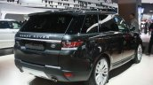 Range Rover Sport rear three quarter at the 2015 Detroit Auto Show