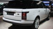 Range Rover rear three quarter at the 2015 Detroit Auto Show
