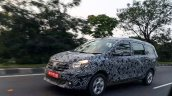 Renault Lodgy spied front three quarter