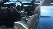 Shelby GT350R Mustang interior at the 2015 Detroit Auto Show
